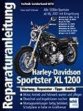 Reparatur-Anleitung Band 6014 für HARLEY DAVIDSON Sportster XL 1200 ab 2007, Wartung, Reparatur, Tipps & Kniffe