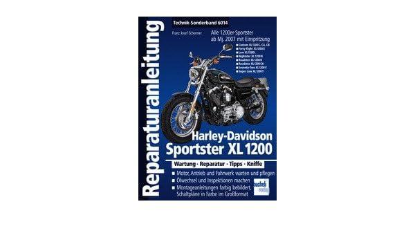 Reparatur-Anleitung Band 6014 für HARLEY DAVIDSON Sportster XL 1200 ...