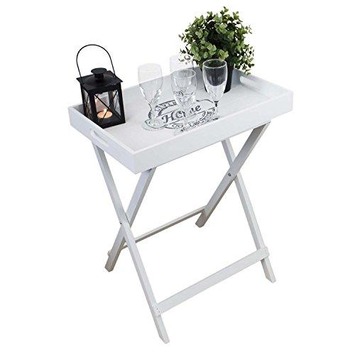 Tablett-Tisch-mit-Gestell-Serviertisch-Klapptisch-Beistelltisch-Serviertablett-Tablett-abnehmbar-49x32x60cm-Landhaus-Stil-Holz