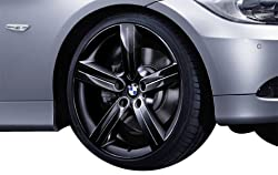 BMW Genuine 8Jx19 Star-Spoke 199 Black Front Alloy Wheel Rim (36 11 6 786 889)
