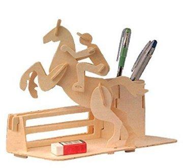 Lavillede portapenne in legno jigsaw diy