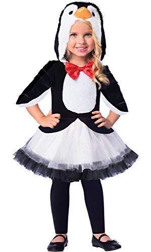 Fancy Me Mädchen Niedlich Schwarz Weiß Pinguin Vogel Winter Carnival Welttag des Buches Tier Tutu Rock Kostüm Kleid Outfit 3-8 Jahre - 3-4 - Niedliche Tiere Kostüm