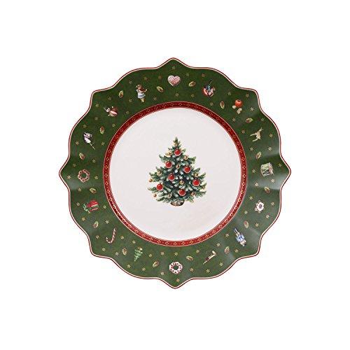 Villeroy & Boch Toy's Delight Assiette petit-déjeuner verte, 24 cm, Porcelaine Premium
