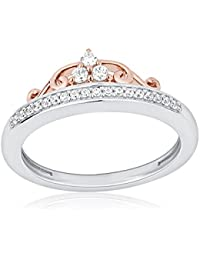 Enchanted Disney Fine Jewelry Women 925 Silver Ring - Size N RGO5996SP9QDSAU