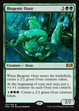 Magic: the Gathering - Biogenic Ooze - Melma Biogenica - Ravnica Allegiance