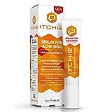 ITCHIE Serum gegen Akne -100% nachgewiesene Ergebnisse - All-In-One Akne-Behandlung - beruhigt Entzündungen - Reduziert Rötungen, Flecken und Pickel - Stoppt und verhindert Juckreiz