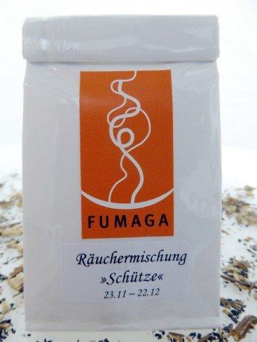 Fumaga - Räuchermischung für Sternzeichen Schütze