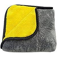 limpieza coche,Pawaca Toallas de limpieza para coche ultra gruesas de felpa de microfibra para limpiar el coche, toallas de secado superabsorbentes