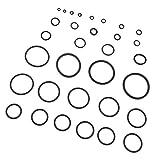 MagiDeal Anillo de Goma de Surtido Anillo O Conjunto Caja de Reparación Mantenga Sellos de Conjunto - Amarillo