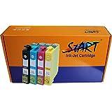 Start - Cartuchos de tinta compatible con Epson 29XL new Chip con Epson Expression Home XP-332 XP-335 XP-235 XP-432 XP-435 (1 Negro, 1 Cian, 1 Magenta, 1 Amarillo)