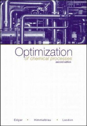 Optimization of Chemical Processes (McGraw-Hill Chemical Engineering Series)