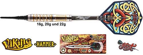 Shot Viking Hammer FW Darts 90{e34b69b3b2e63d269aeb2d4263af90fded0c7b05bb7a83f8972567b89daaf0a1} Tungsten Softdarts 22g