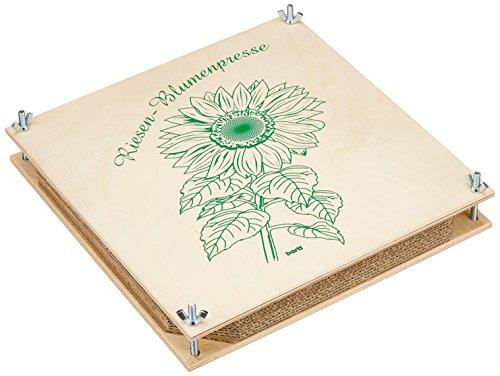 Bartl Riesen-Blumenpresse 30 x 30 cm aus Holz