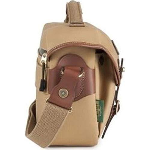 Khaki-objektiv (Billingham Small Pro Canvas-Tasche Rucksack (Schnellverschluss-System, Regenabweiser) Khaki und Toasten)