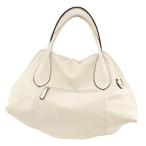 Borgata Bags , Sac bandoulière pour femme blanc Bianco