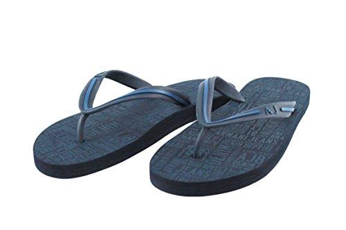 Armani Jeans - Pantofole Uomo , Blu (blu), 44 eu