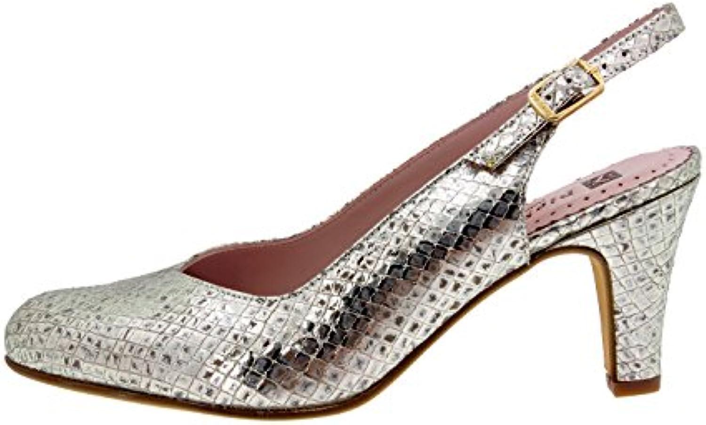 PieSanto Komfort Damenlederschuh 8210 Pumps Schuhe Bequem Breit