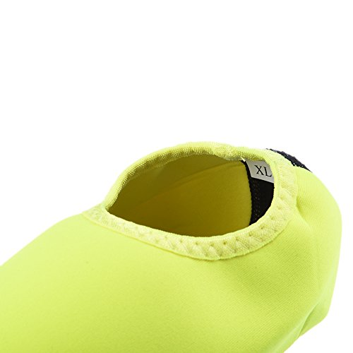 Unisex breve immersione calzini nuoto surf snorkeling scarpe Green