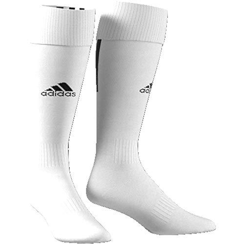 adidas Kinder Santos 18 Socken, White/Black, EU 27-30