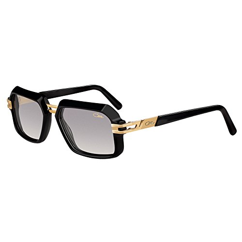 Sonnenbrille Sunglasses Cazal Vintage 6004 /3 01 Black Gold 100% Authentic New