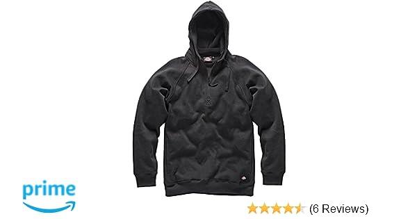 Dickies Elmwood Hoody Mens Hooded 1//4 Zip Work Sweatshirt Jumper SH11900