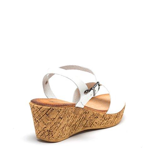 Maria Barcelo Damen M01203 Schuhe, EU Weiß