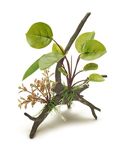 Pistachio Pet Schöne Realistische Aquarium Pflanze auf Wurzel 22,9cm/23cm hoch. New für - Aquarium Realistische Pflanzen