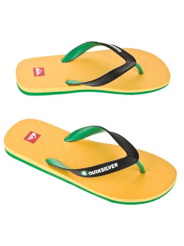 Herren Sandalen Quiksilver Compound Sandals Gelb