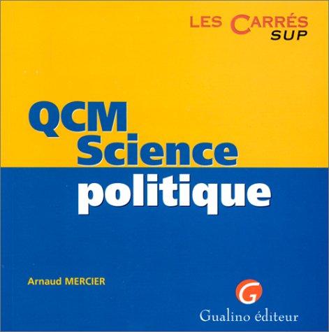 QCM, science politique