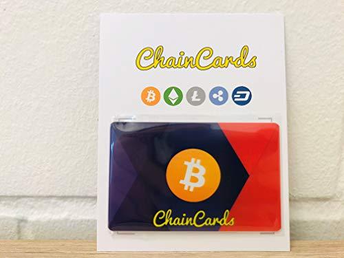 ChainCards Crypto Wallet to go - Bitcoin Wallet - für Bitcoin Geschenkkarten, zum lagern von Bitcoin, offline und sicher.