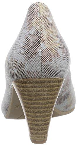 Caprice - 22417, Scarpe col tacco Donna Multicolore (Mehrfarbig (DUNE SUE. COMB 402))