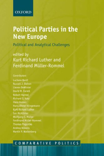 eBooks For Windows Political Parties In The New Europe: Political and Analytical Challenges (Comparative Politics) RTF