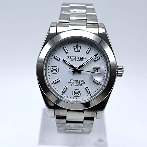 BINGABSFW Automatic Mechanische Herrenuhren Top-Marke Luxus Männliche Uhren Voller Stahl Uhr Klassische Mode Herrenuhr reloj Hombre