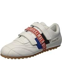 Unisex Adults Soccer 106 Low-Top Sneakers, Blue (White/Bluette), 36 EU Dirk Bikkembergs