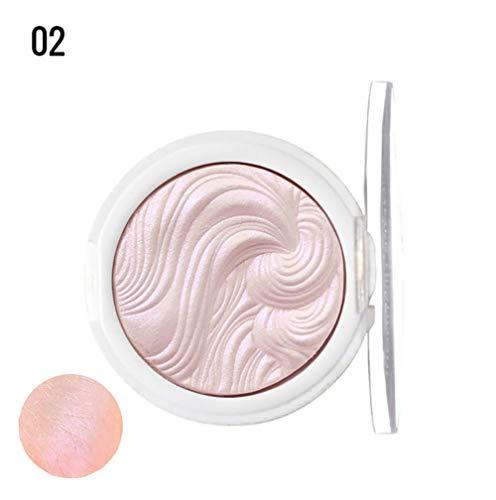 Highlighter Powder Jelly Gel Puder 3D Gesicht Dauerhafter K?rper Highlight Paste Meerjungfrau Lidschatten Make-up Gelee Bronzer -