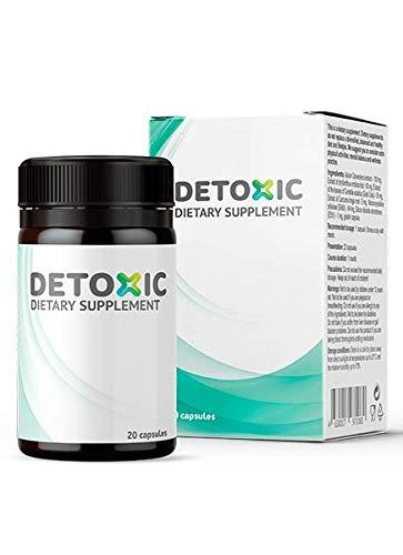 Detoxic – Suplemento dietético - Tratamiento de desintoxicación de 10 días