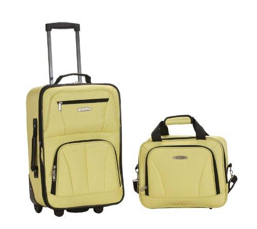 Rockland 2-Teilig Koffer-Set, 35 Liter, Limette