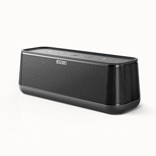 Anker-SoundCore-Pro-Speaker-Bluetooth-25W-con-Bassi-Superiori-e-Suono-ad-Alta-Definizione-Speaker-Bluetooth-Premium-Senza-fili-con-4-Altoparlanti-18-Ore-di-Riproduzione-Resistente-agli-Spruzzi-dAcqua-