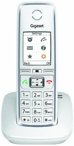 Gigaset C 530 Telefono Cordless, Bianco