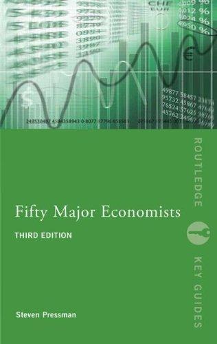 Fifty Major Economists (Routledge Key Guides) by Pressman, Steven (2013) Paperback