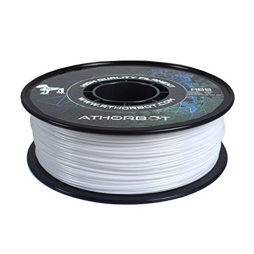 Athorbot Filament Matériel d'impression 3D ABS, 1.75mm, 1kg Spool