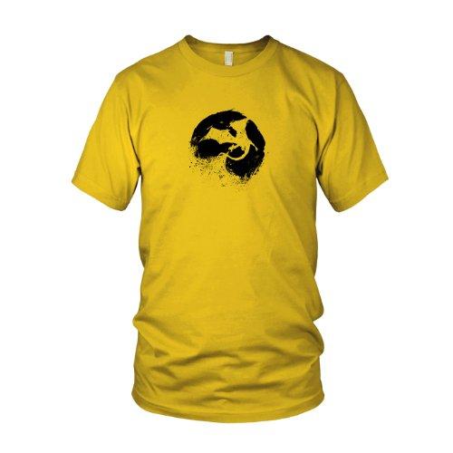 Night of Dragons - Herren T-Shirt Gelb