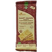 Probios Top Grain Kamut Crackers A Levadura Natural - con Sal - 12 paquetes