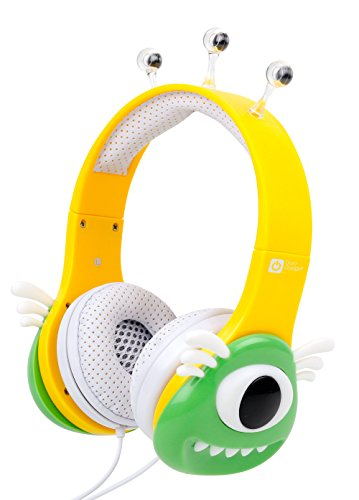 tablet dragon touch DURAGADGET Cuffie Mostro per Dragon Touch Y88X Plus 7 Pollici | Alldaymall Tablet PC Kid-Proof | Irulu Babypad | JEJA 7 - Verde