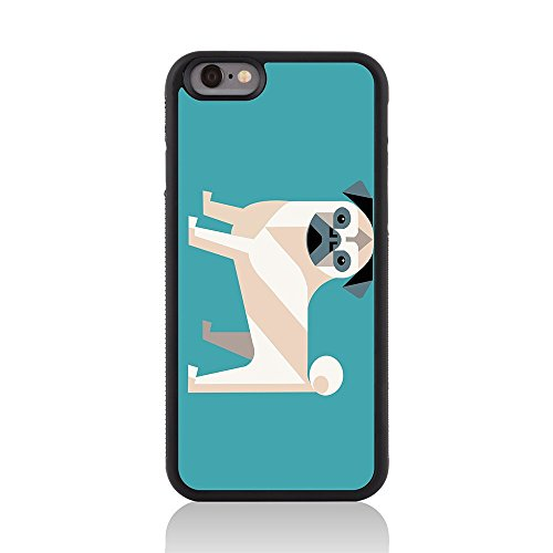 Apple iPhone 6/6s Collection/Pugly/brillant Coque arrière par Call Candy Chiens