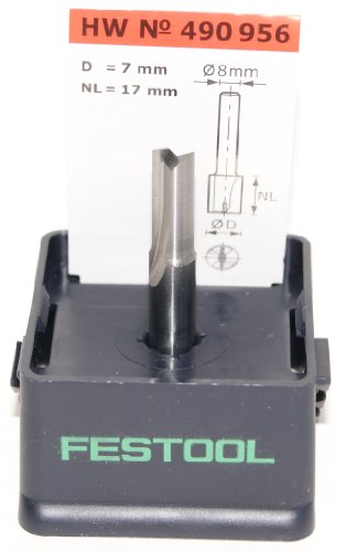 Festool 490956 HW Nutfräser S8 D7/17
