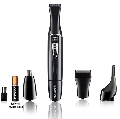 Nova NG910 Portable Battery Operated Grooming Kit (Black)
