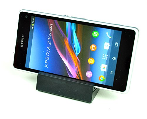 Mondpalast@ Dock Cradle Caricabatterie + USB Data cable per Sony xperia Z1 compact