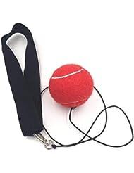 EisEyen Boxing Training Ball Reflex Speedball Fitness Punching Boxing Ball with Headband for Boxing Training