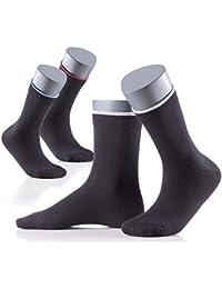 Perfect Man klassische Herrensocken 6er Pack - hoher Anteil an Baumwolle - Classic Casual Business Socken